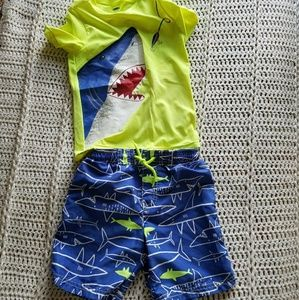 Boys swim suit set